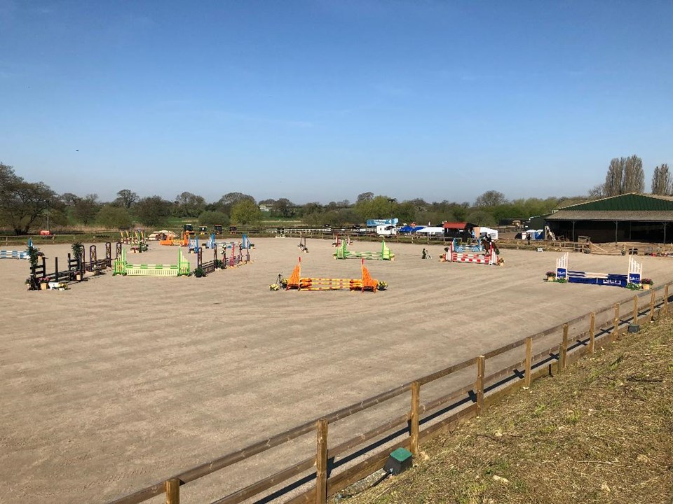 3-day Unaffiliated Show Jumping show Aug 19